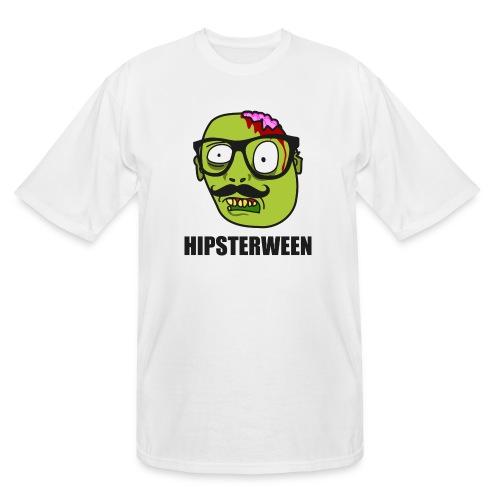 Hipsterween Zombie - Men's Tall T-Shirt