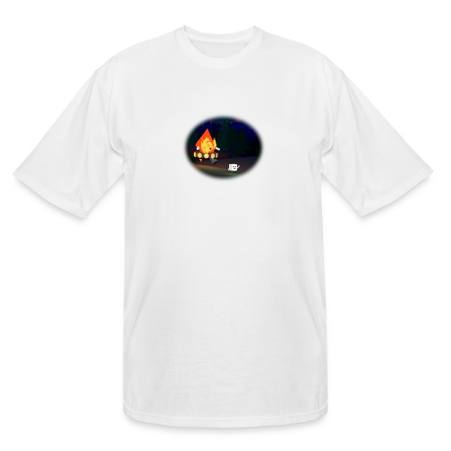 'Round the Campfire - Men's Tall T-Shirt