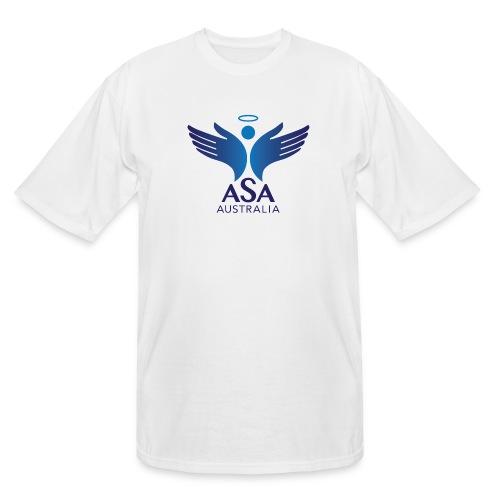 3459 Angelman Logo AUSTRALIA FA CMYK - Men's Tall T-Shirt