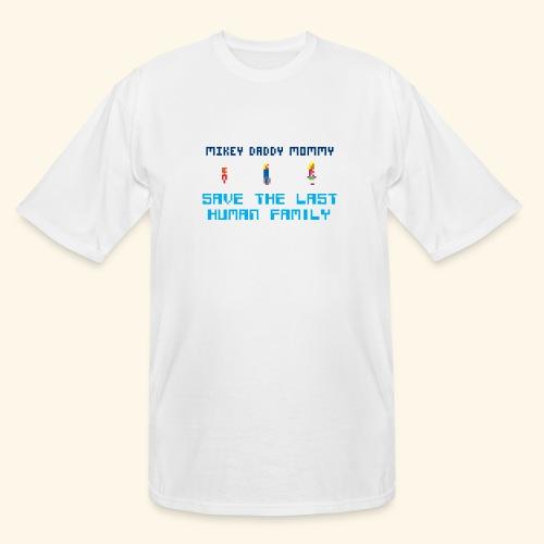 Save the last human family - Men's Tall T-Shirt