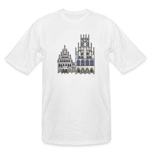 Town Hall Münster, Cityhall, Mayor - Men's Tall T-Shirt