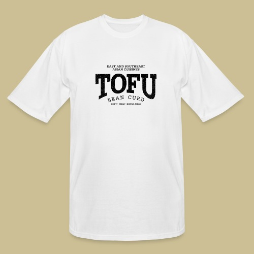 Tofu (black oldstyle) - Men's Tall T-Shirt