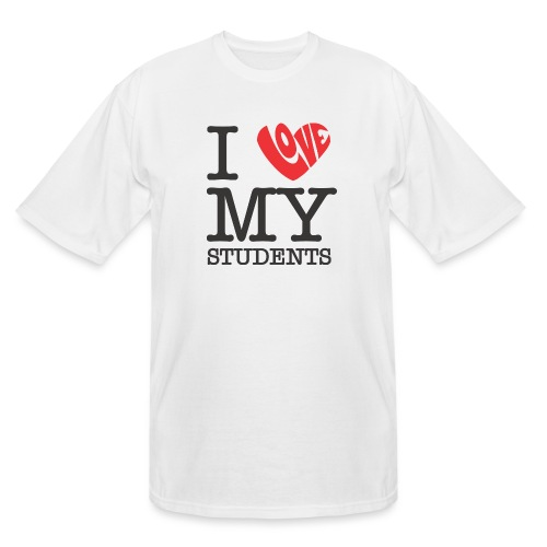 I Love My Students Women's T-Shirts - Men's Tall T-Shirt