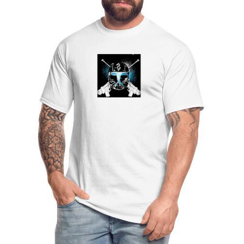 masked guns - Men's Tall T-Shirt
