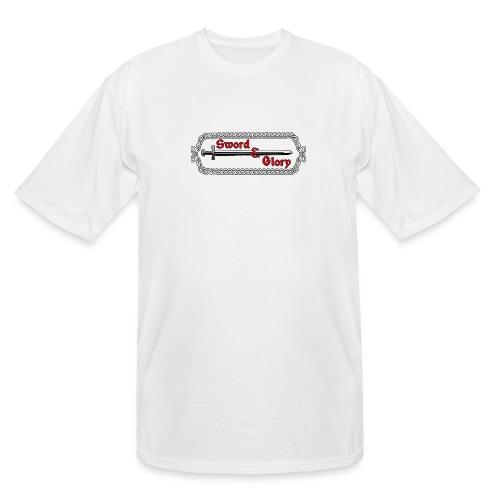 Sword & Glory Logo - Men's Tall T-Shirt