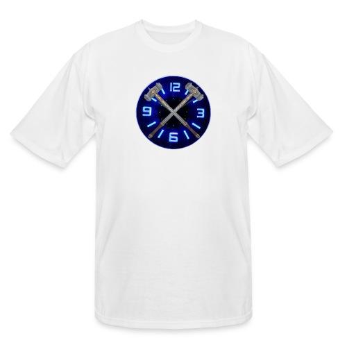 Hammer Time T-Shirt- Steel Blue - Men's Tall T-Shirt