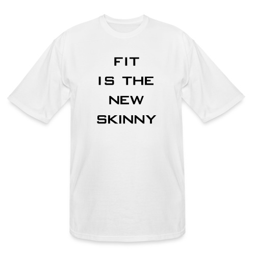 The New Skinny Gym Motivation - Men's Tall T-Shirt