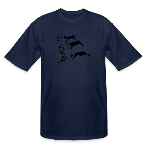 Lascaux Cave Painting - Men's Tall T-Shirt