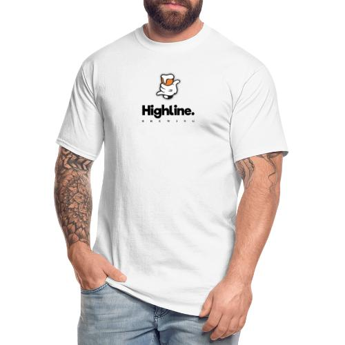 Highline Brewing Logo - Big - Men's Tall T-Shirt