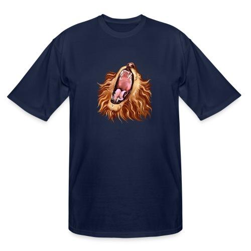 Lion's Face - Men's Tall T-Shirt