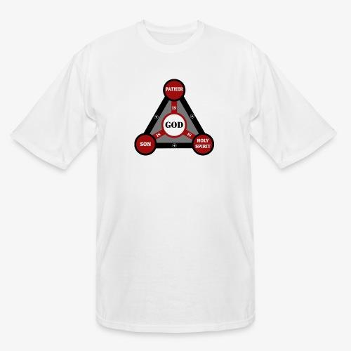 Holy Trinity One God - Men's Tall T-Shirt
