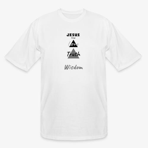 Love Truth Wisdom - Men's Tall T-Shirt