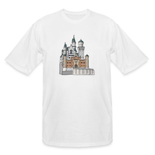 Neuschwanstein Castle, Bavaria - Men's Tall T-Shirt