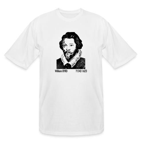 William Byrd Portrait - Men's Tall T-Shirt