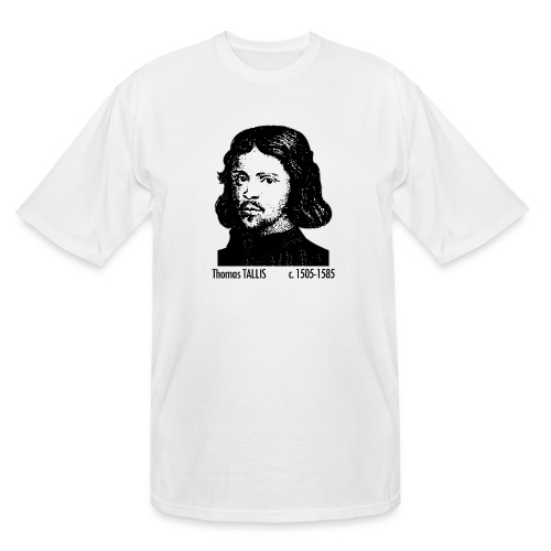 Thomas Tallis Portrait - Men's Tall T-Shirt