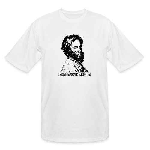 Morales Portrait - Men's Tall T-Shirt