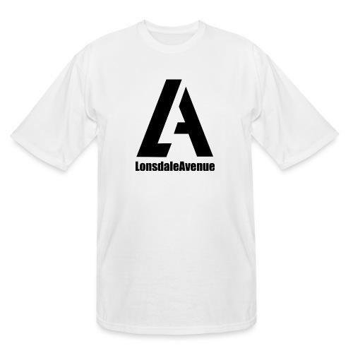 Lonsdale Avenue Logo Black Text - Men's Tall T-Shirt