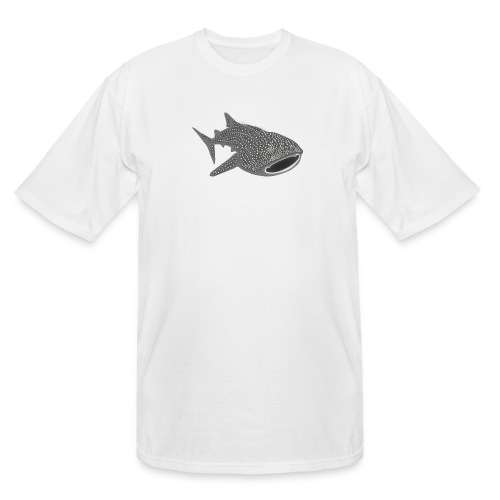 save the whale shark sharks fish dive diver diving - Men's Tall T-Shirt