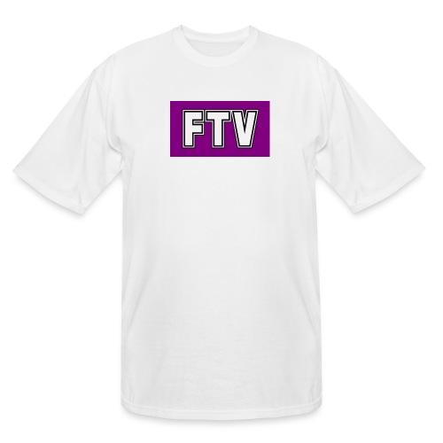 Purple FTV Logo Design - Men's Tall T-Shirt