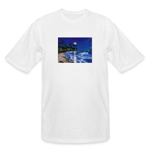 full moon - Men's Tall T-Shirt