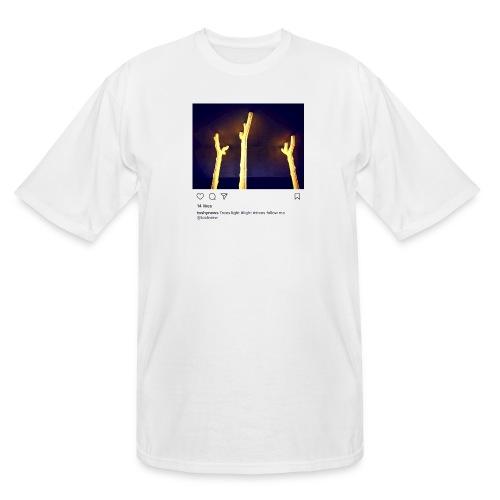 TREE LIGHT - Men's Tall T-Shirt