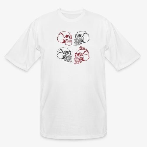 4 skulls - Men's Tall T-Shirt