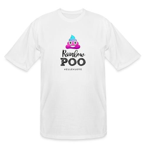 Rainbow Poo - Men's Tall T-Shirt