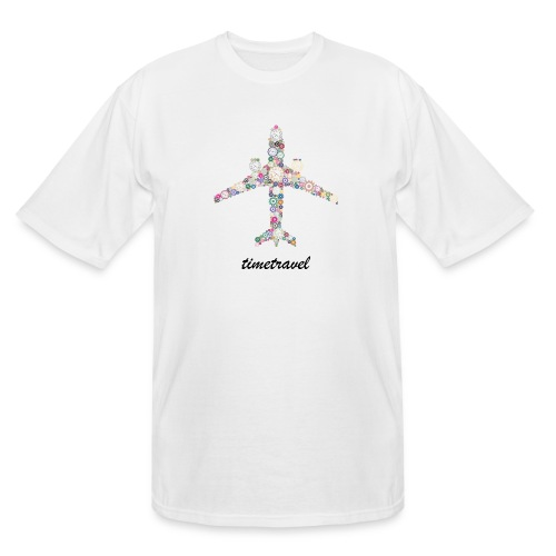 Time To Travel - Men's Tall T-Shirt