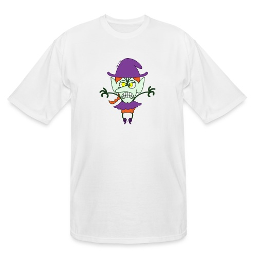 Scary Halloween Witch - Men's Tall T-Shirt