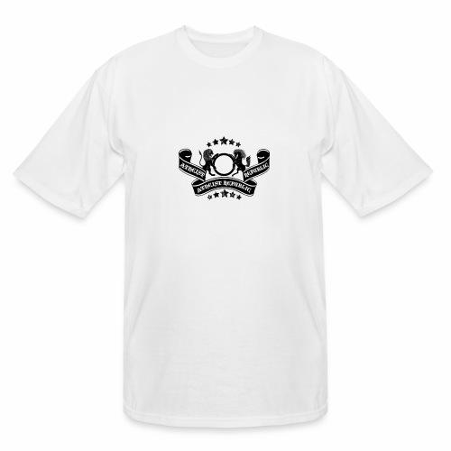 Atheist Republic Logo - Banner & Stars - Men's Tall T-Shirt