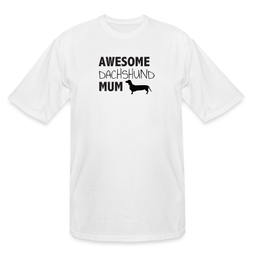 Awesome Dachshund Mum - Men's Tall T-Shirt