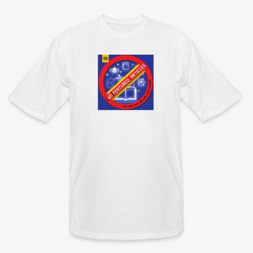 unFeatured Articles Cover - Men's Tall T-Shirt