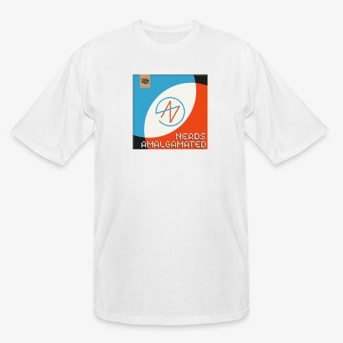 Top Shelf Nerds Cover - Men's Tall T-Shirt