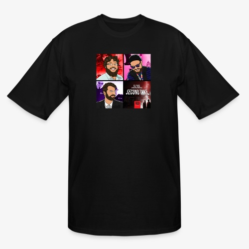 Second Take Cover - Men's Tall T-Shirt