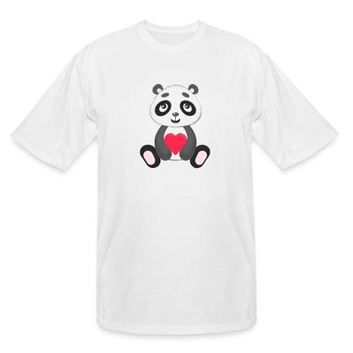 Sweetheart Panda - Men's Tall T-Shirt