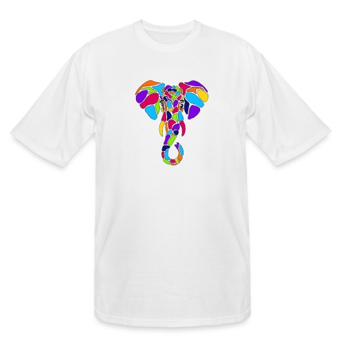 Art Deco elephant - Men's Tall T-Shirt