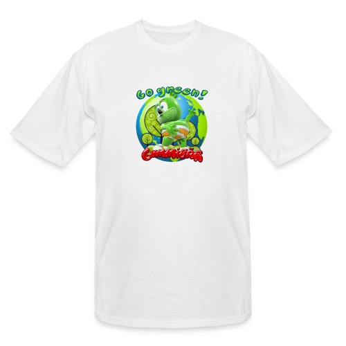 Gummibär Go Green Earth Day Earth - Men's Tall T-Shirt