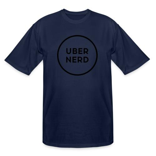 uber nerd logo - Men's Tall T-Shirt