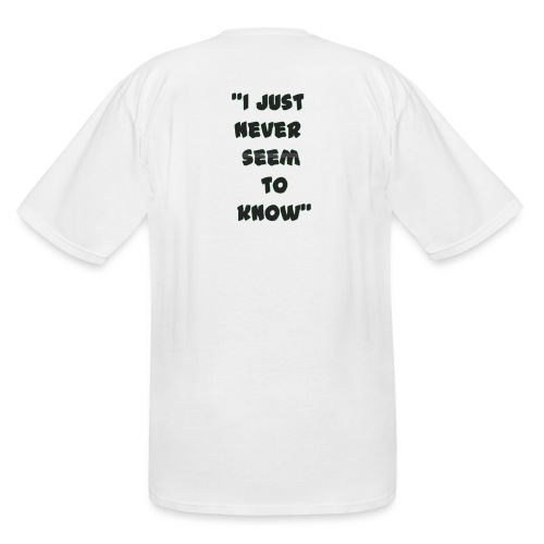know png - Men's Tall T-Shirt