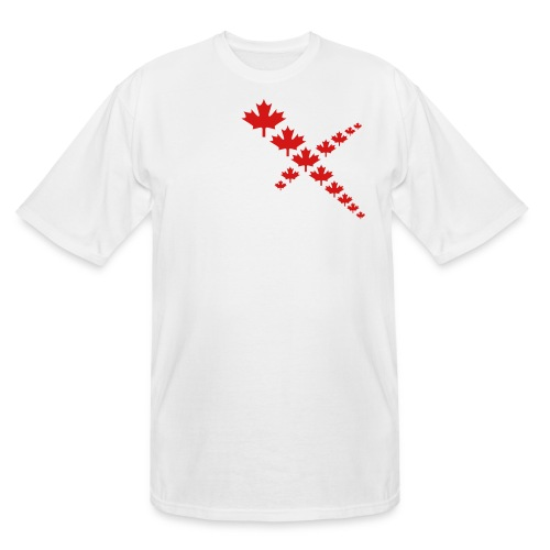 Maple Leafs Cross - Men's Tall T-Shirt
