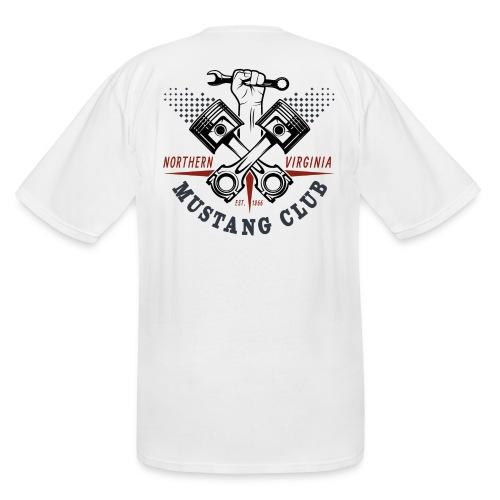 Crazy Pistons logo t-shirt - Men's Tall T-Shirt