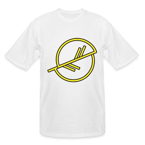 Warrior-yellow - Men's Tall T-Shirt