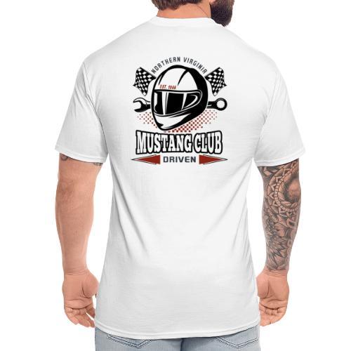 Race Helmet logo t-shirt - Men's Tall T-Shirt