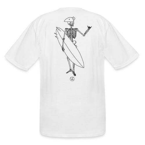 Skelly surfer - Men's Tall T-Shirt