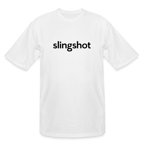 SlingShot Logo - Men's Tall T-Shirt