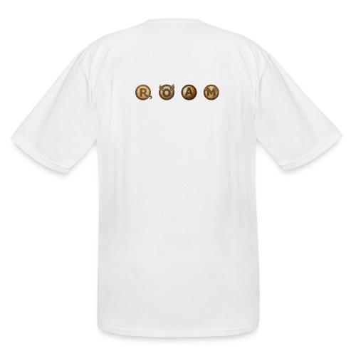ROAM letters sepia - Men's Tall T-Shirt