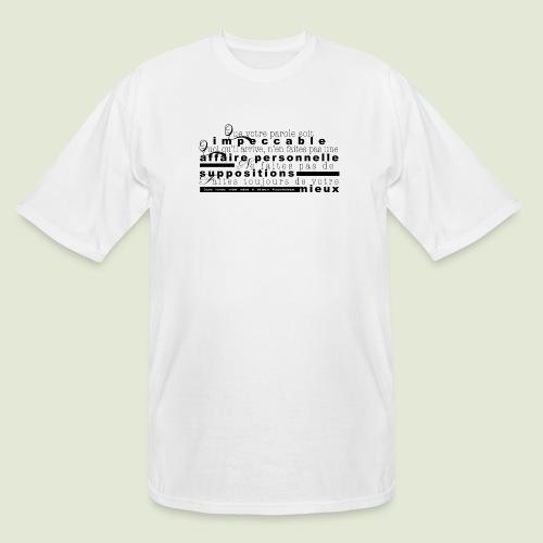 4 Accords Toltèques - Men's Tall T-Shirt