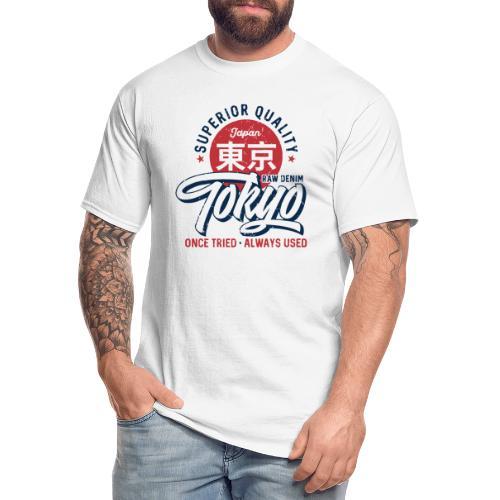 tokyo superior quality japan - Men's Tall T-Shirt