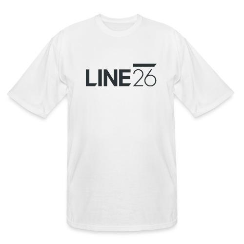 Line26 Logo (Dark Version) - Men's Tall T-Shirt