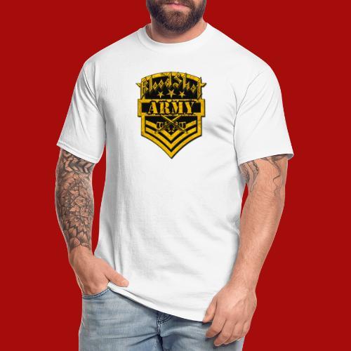 BloodShot ARMYLogo Gold /Black - Men's Tall T-Shirt